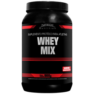 Whey Mix - 900g - Nitech Morango Whey Protein