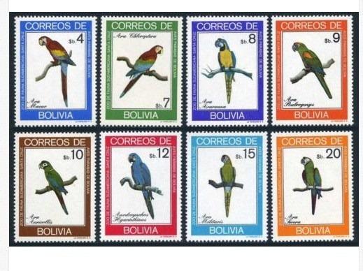 Dams Bolívia Papagaios Aves Pássaros Fauna