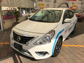 Nissan Versa 1.6 Exclusive Navi At 2019, Llevatelo A Credito
