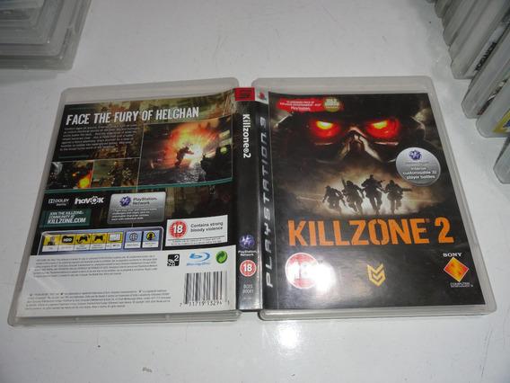 Killzone 2 Ps3 Midia Fisica Original Black Label