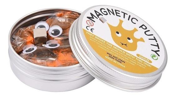Slime Magnético Antiestrés Goma Plastilina Magnética
