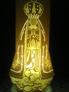 Luminárias Em Pvc Nossa Senhora Aparecida