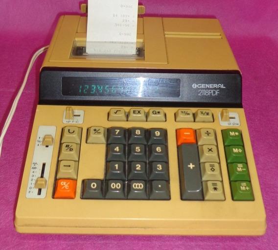 Calculadora General 2118pdf - Funcionando - Ler Anúncio