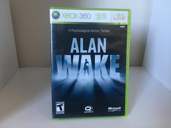 Alan Wake - Xbox 360 - Mídia Física Original