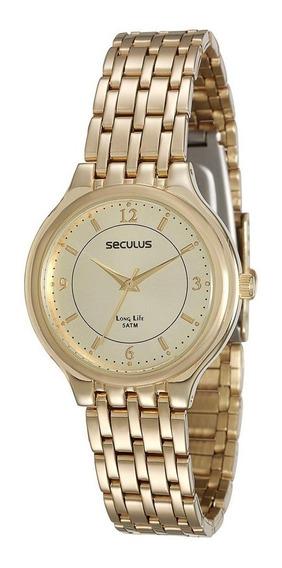 Relógio Seculus Feminino 25537lpsvda1