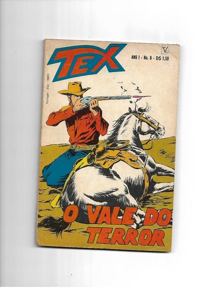 Tex - N. 6 - O Vale Do Terror - Vecchi -