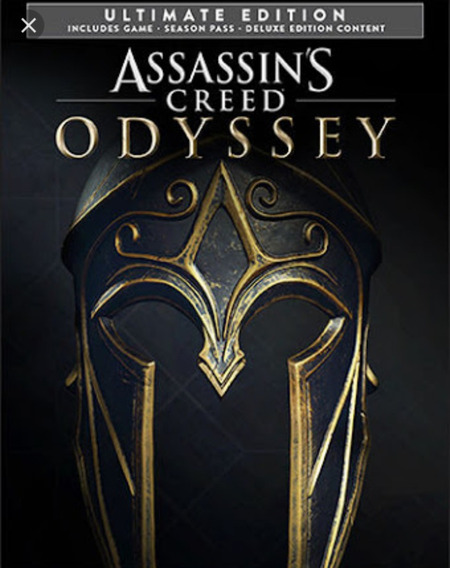 Assassins Creed Odyssey Ultimate Edition Ps4