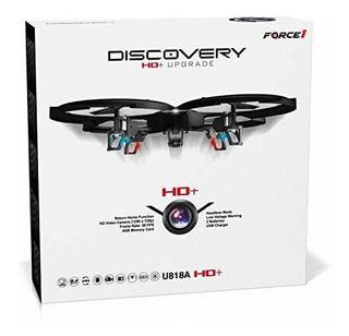 Force1 Control Remoto Drone Con Cámara - U818a Discovery Hd