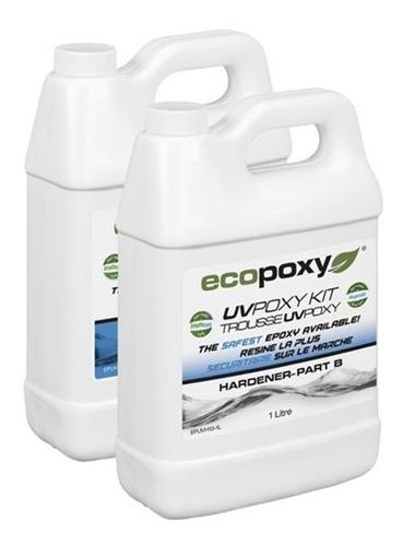 Imagen 1 de 4 de Ecopoxy Uv Poxy Kit 2 Litros