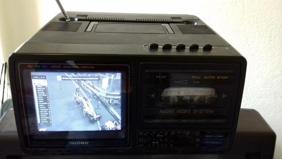 Vendo Aparelho De Tv A Cores, Com Rádio Am/fm, Toca Fitas,