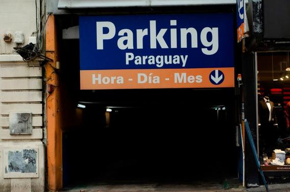 Cochera Parking, Estacionamiento, Centro De Montevideo X Mes
