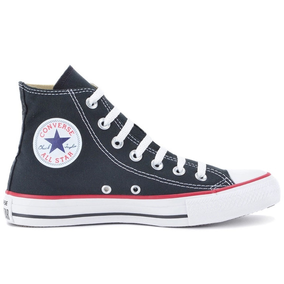 Tênis Converse All Star As Core Hi New Preto - Frete Grátis