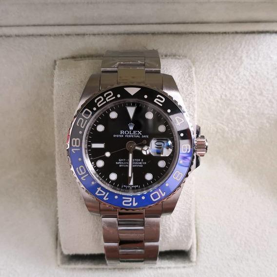Relógio Masculino R Gmt - Batman / Com Caixa Verde