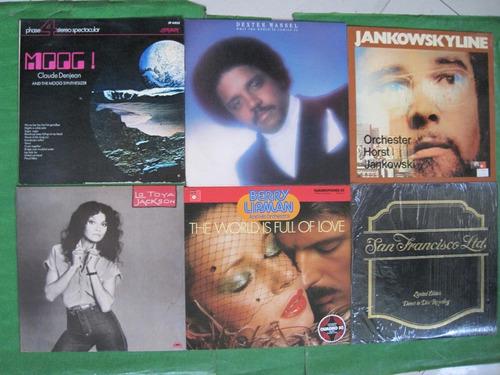 Lps Acetatos Promoción Pop Disco Salsa Jazz