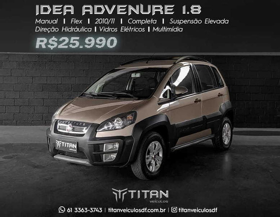 Fiat Idea Adventure 1.8 Unico Dono