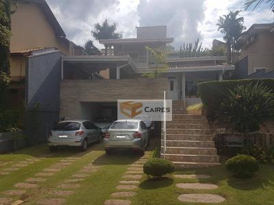 Casa Residencial À Venda, Condomínio Millenium, Valinhos. - Ca2035