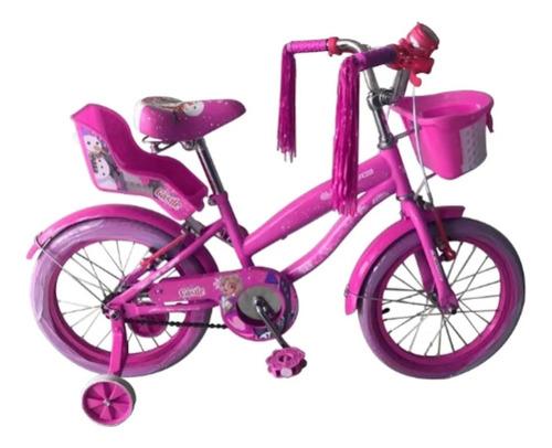 Bicicleta Cross Drive Niña Rin 16 Muñequera