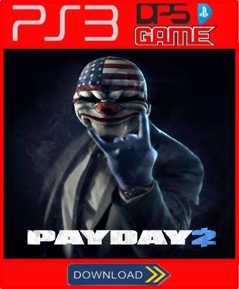 Payday 2 Ps3 Psn Midia Digital Envio Rapido Jogo De Ação