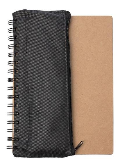 Cuaderno Anillado Con Cartuchera Y Útiles