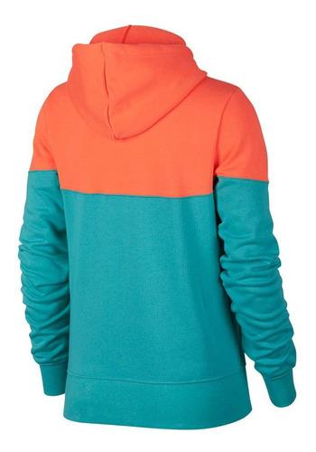 Ocurrencia soltar Mendicidad  Canguro Nike Mujer Sportswear Heritage Hoodie- 7408 - Moov | Mercado Libre