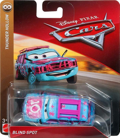 Disney Cars 3 Blind Spot Ponto Cego Thunder Hollow Mattel