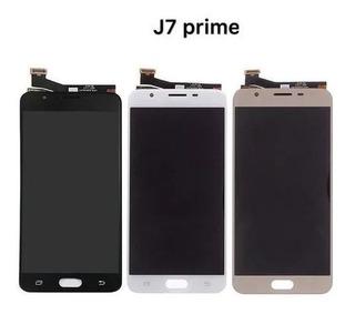 Tela Touch Display Lcd Samsung Galaxy J7 Prime Envio Já!
