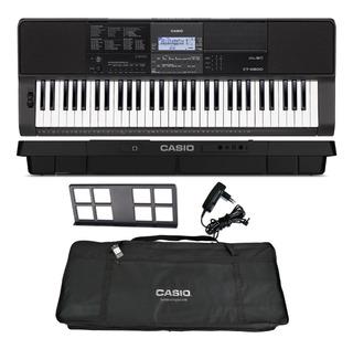 Kit Teclado Arranjador Musical 61 Teclas Ctx800 Casio + Capa