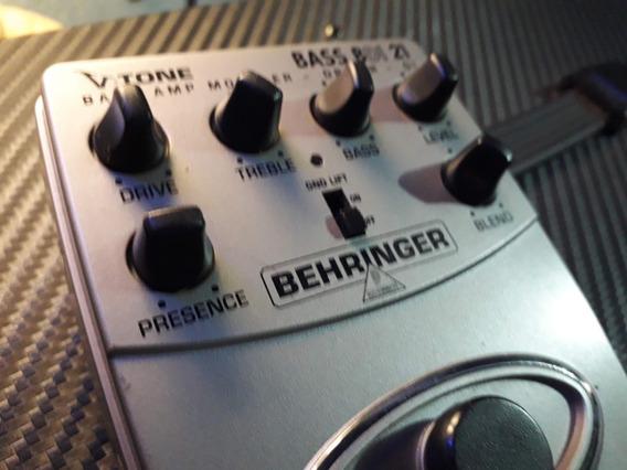 Pedal Behringer Bass Bdi 21