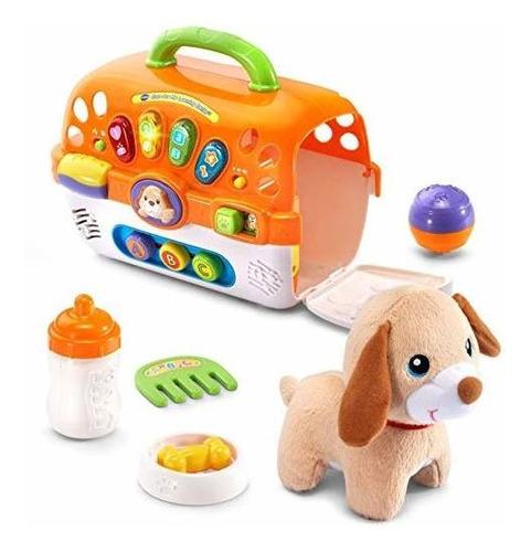 Imagen 1 de 6 de Vtech Care For Me Learning Carrier Toy - Online Exclusive