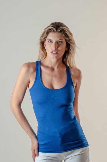 10 Musculosa Deportiva Mujer Talle 1a6 Modal Premium X Mayor