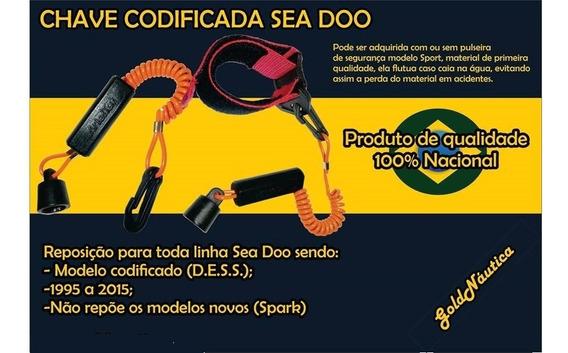 Chave Codificada Sea Doo Jet Ski D.e.s.s. S/pulseira