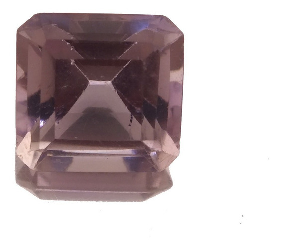 Pedra Preciosa Ametista Clara Octagonal Natural 12klt J21554