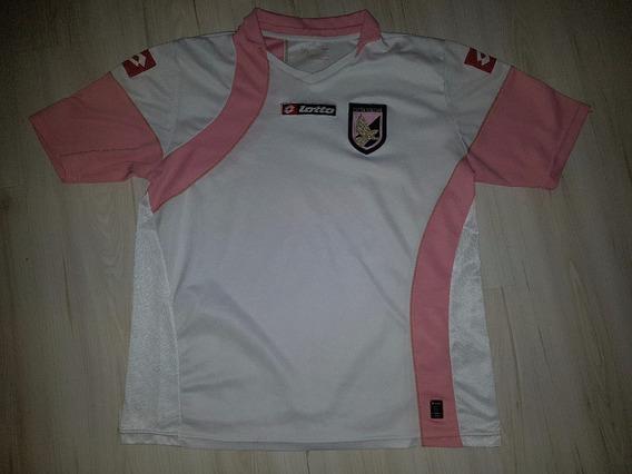 Camisa Do Unione Sportiva Città Di Palermo Lotto