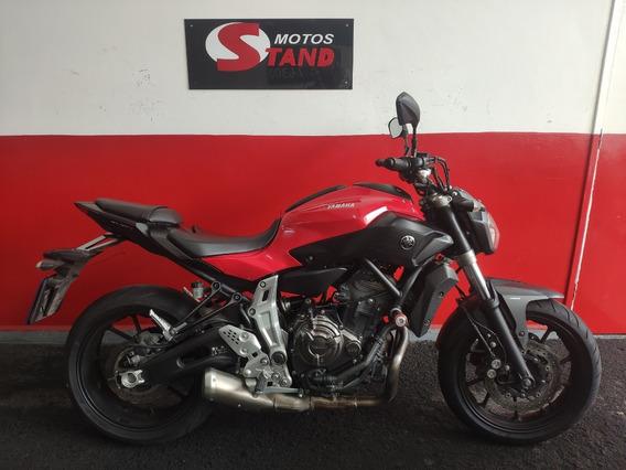 Yamaha Mt07 Mt-07 Mt 07 Abs 2016 Vermelha Vermelho