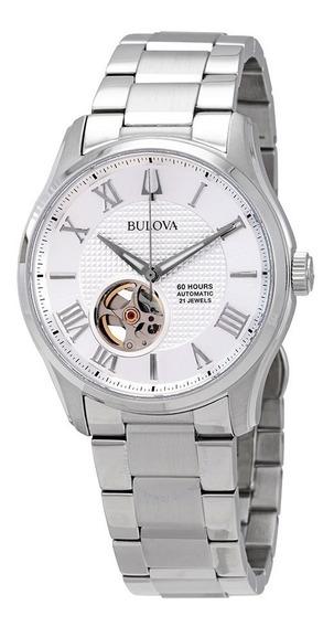 Relógio Bulova Masculino Automático 96a207