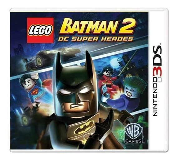 Lego Batman 2 Dc Super Heroes - Nintendo 3ds - Usado
