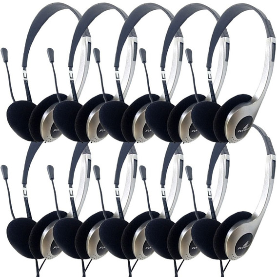 Fone De Ouvido Para Telefonias De Boa Qualidade 10 Unidades