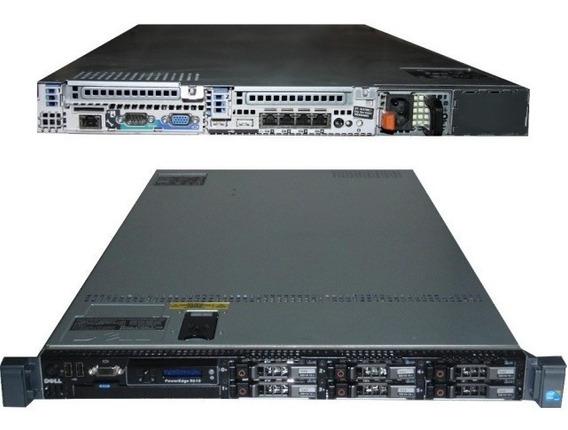 Servidor Dell Poweredge R610 2 Xeon E5645 128gb Hd 2x300 Com Frete Grátis Nota Fiscal Garantia E Em Até 12x Sem Juros