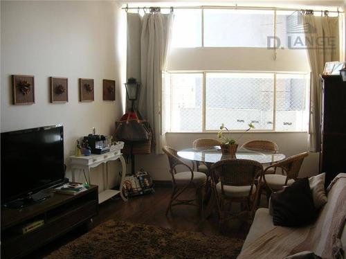 Imagem 1 de 17 de Apartamento Com 2 Dormitórios À Venda, 90 M² Por R$ 450.000 - Centro - Campinas/sp - Ap10570