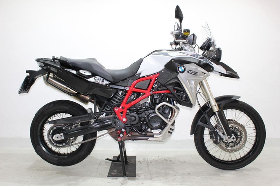 Bmw F 800 Gs Trophy 2018 Branca