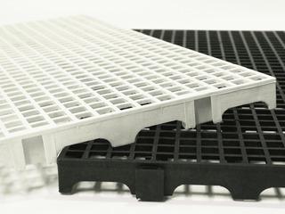 20 Pallet Palete Estrado Piso Plastico Pt 2,5 X 25 X 50