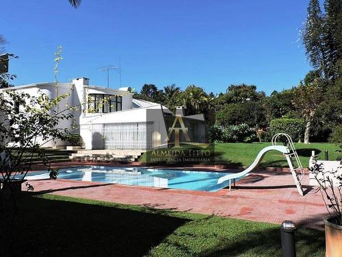 Imagem 1 de 30 de Excelente Casa Á Venda No Jardim Colonial, Carapicuíba. Com 5 Suítes, 4 Vagas, Gourmet E Espaço! - Ca2537