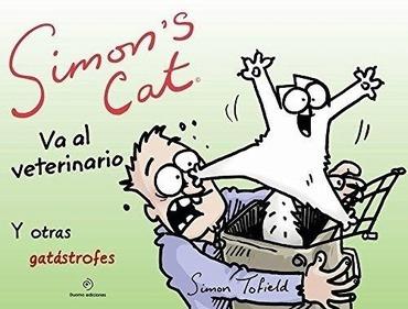 Simons Cat Va Al Veterinario - Simon Tofield