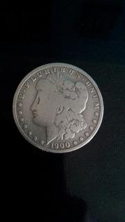 Morgan De Plata Usa Año 1900