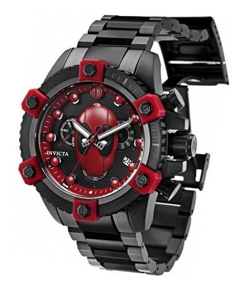 Relógio Invicta Deadpool Marvel Original Modelo 27155