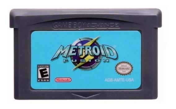 Metroid Fusion Americano Game Boy Advance Gba Novo Garantia