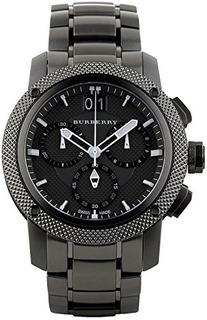 Reloj Burberry Bu9801 Endurance Mens Dial Negro Caja De Acer