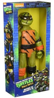 Tortugas Ninja Figura De Accion 25 Cm Spinmaster Miguelangel