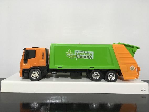 Caminhão Iveco Coletor Usual Brinquedos Confira O Vídeo