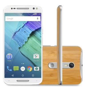 Smartphone Motorola Stylus Pure Bambu Negro 32gb Movistar